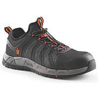 Scruffs Argon Metal Free  Safety Slip On Trainers Black / Grey Size 10