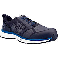 Timberland Pro Reaxion Metal Free  Safety Trainers Black/Blue Size 6.5