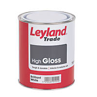 Leyland Trade High Gloss Brilliant White 750ml
