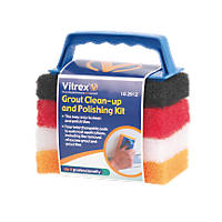 Vitrex Grout Clean & Polishing Kit 6 x 6""