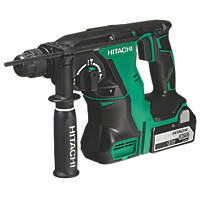 Hitachi DH18DBL/JP 3.8kg 18V 5.0Ah Li-Ion  Cordless Brushless SDS Plus Drill