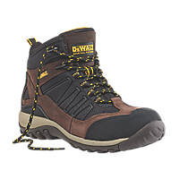 DeWalt Slide   Safety Trainer Boots Brown / Black Size 8