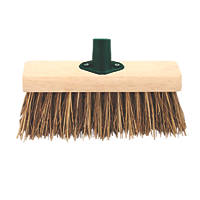 Yard Broom Head & Bracket 13""