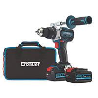 Erbauer ECDT18-Li-2 18V 5.0Ah Li-Ion EXT Brushless Cordless Combi Drill