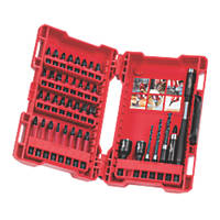 Milwaukee Mixed Shockwave Screwdriver Bit Set 40 Pieces