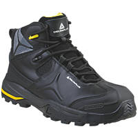 Delta Plus TW402 Metal Free  Safety Boots Black Size 10