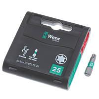 Wera Bit-Box BiTorsion Extra-Tough Bits TX25 x 25mm 20 Pack