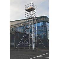Lyte Helix Double Depth Aluminium Industrial Tower 8.2m