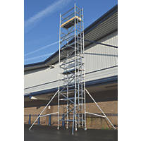 Lyte Helix Single Depth Aluminium Industrial Tower 8.2m