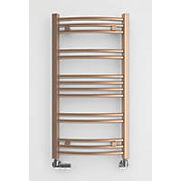 Terma Jade Designer Towel Rail 753 x 400mm Copper