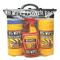 Big Wipes Power Pack All-In-One Cleaning Kit 4 Pieces