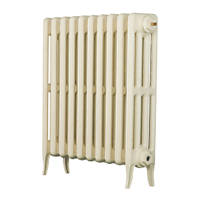 Arroll  4-Column Cast Iron Radiator 660 x 634mm Cream