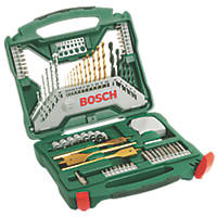 Bosch Hex Shank Mixed Bit Set 70 Pieces