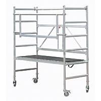 Werner  Single Depth Aluminium Mobile Access Tower Base Unit Pack 1 0.7m