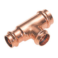 Conex Banninger B Press  Copper Press-Fit Reducing Tee 22 x 15 x 15mm 10 Pack
