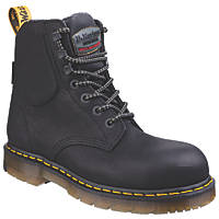 Dr Martens Hyten   Safety Boots Black Size 8