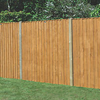 Forest  Feather Edge  Fence Panels 6 x 6' Pack of 3