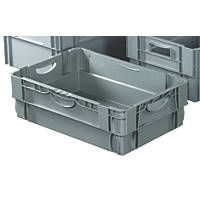 36Ltr Stack & Nest Container 400 x 600 x 190mm 5 Pack