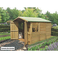 Shire 7' x 10' (Nominal) Apex Overlap Timber Shed