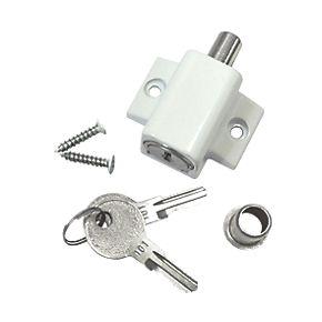 Smith Amp Locke Patio Door Lock White Patio Door Locks