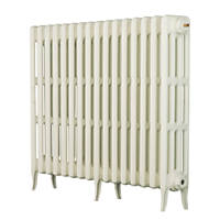 Arroll  4-Column Cast Iron Radiator 760 x 1114mm White
