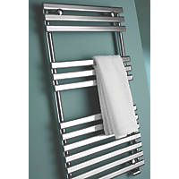 Kudox  Designer Towel Radiator 900 x 450mm Chrome