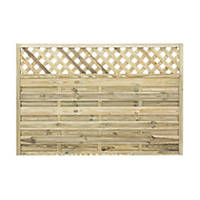 Grange Ledbury Decorative Fence Panels 1.8 x 1.2m 3 Pack