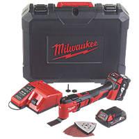 Milwaukee M18BMT-421C 18V 2.0 & 4.0Ah Li-Ion RedLithium  Multi-Tool