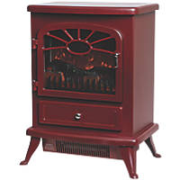 Focal Point ES2000 Burgundy Electric Stove