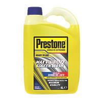 Prestone Ready to Use Screen Wash 4Ltr