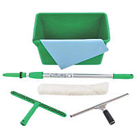 Unger  Contractor Cleaning Kit 6 Piece Set