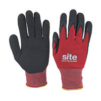 Site Dextrogrip Nitrile Foam-Coated Gloves