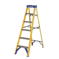 Werner 71696 Swingback Ladder Fibreglass 6-Tread 1.67m