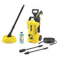 Karcher K2 Full Control Home 110bar Electric Pressure Washer 1.4kW 240V