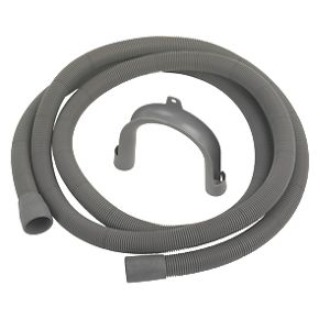 Fill Water Pipe /& Outlet Drain Hose For Kenwood Washing Machine 2.5m Kit