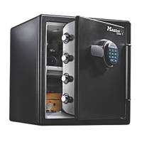 Master Lock LFW123FTC Water-Resistant Electronic Combination 1-Hour Fire Safe 34.8Ltr