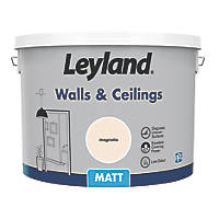 Leyland Retail Matt Emulsion Paint Magnolia 10Ltr