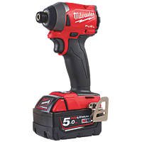Milwaukee M18fid2 502x Fuel 18v 5ah Li Ion Redlithium Brushless Cordless Impact Driver