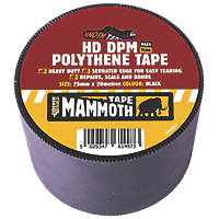 Everbuild DPM Polythene Joint Tape Black 20m x 75mm