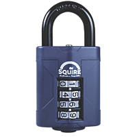 Squire  Steel All-Weather Combination Padlock 48mm