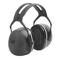 3M Peltor X5A Ear Defenders Black 37dB SNR