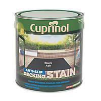 Cuprinol Anti-Slip Decking Stain Black Ash 2.5Ltr