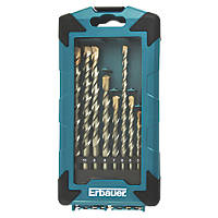 Erbauer  Straight Shank Masonry Drill Bit 10 Pieces