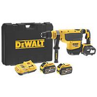 DeWalt DCH733X2-GB 9.9kg 54V 9.0Ah Li-Ion XR FlexVolt Brushless Cordless SDS Max Rotary Hammer