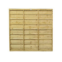 Forest Solway Fence Panels 1.83 x 1.83m 4 Pack
