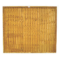 Forest Closeboard Fence Panels 1.83 x 1.52m 10 Pack