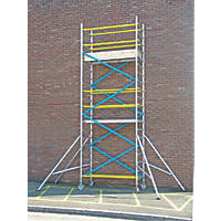 Lyte  Double Depth Aluminium Frame Tower 4.2m