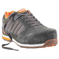 Site Strata   Safety Trainers Grey Size 7
