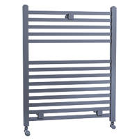 Cassellie Lindley Designer Towel Rail 690 x 500mm Anthracite