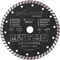Evolution  Masonry/Stone Diamond Turbo Blade 185 x 20mm